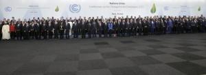 Photo officielle de la COP21